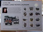 Louise Limb Land Rover Calendar 2015