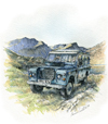March. Series III 109in Safari Station Wagon.