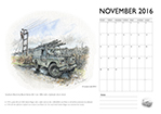 Louise Limb Land Rover Calendar 2016