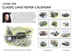 Louise Limb Land Rover Calendar 2013