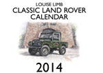 Louise Limb Land Rover Calendar 2014