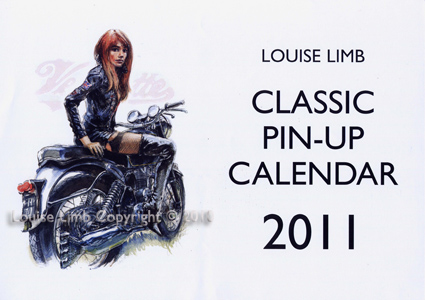 Louise Limb Classic Pin-Up Calendar 2011.