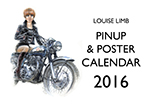 Louise Limb Pin-Up & Poster Calendar 2016