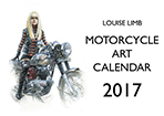 Motorcycle Art Calandar 2017 front cover